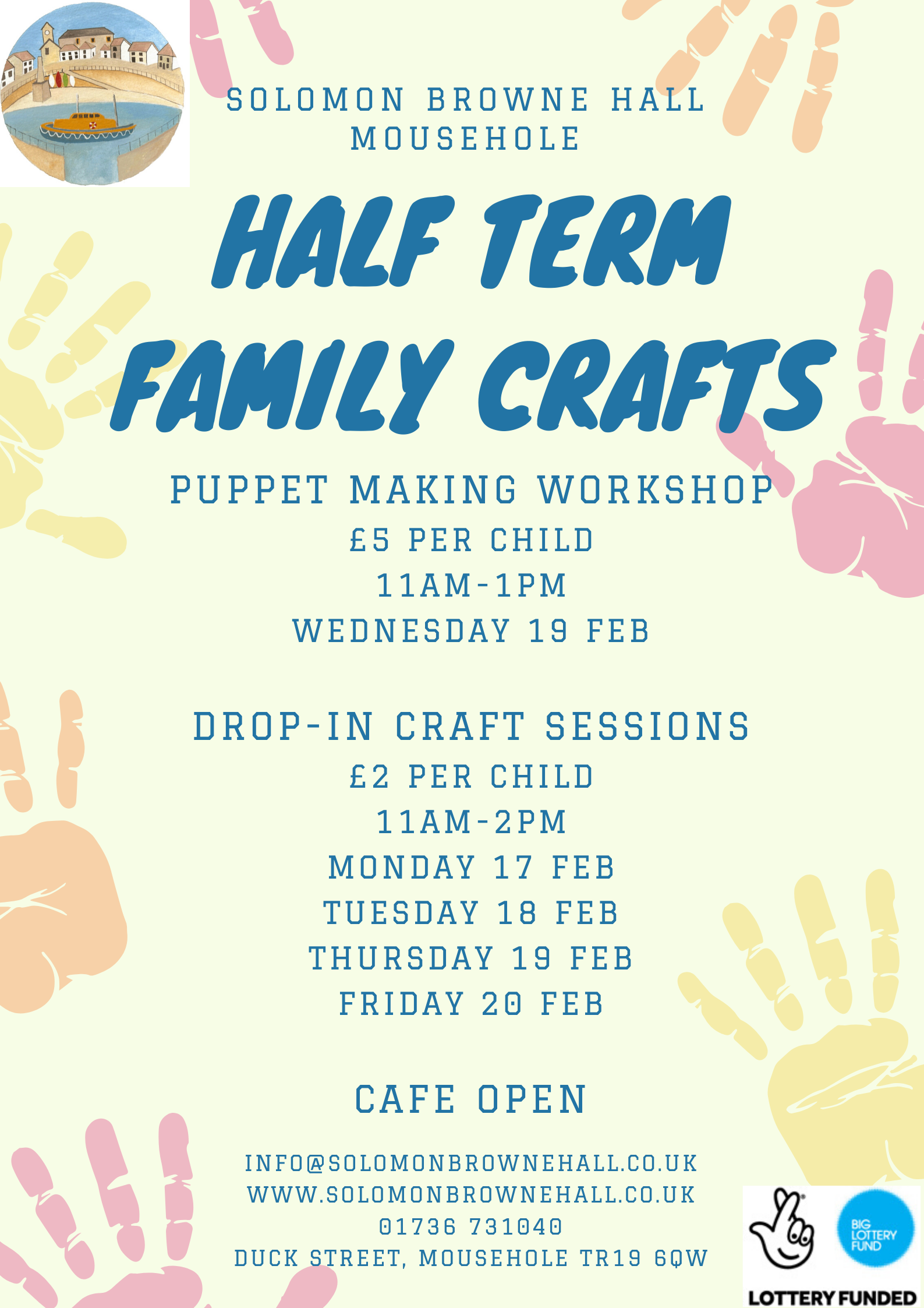 Puppet Making Craft Workshop for Families
