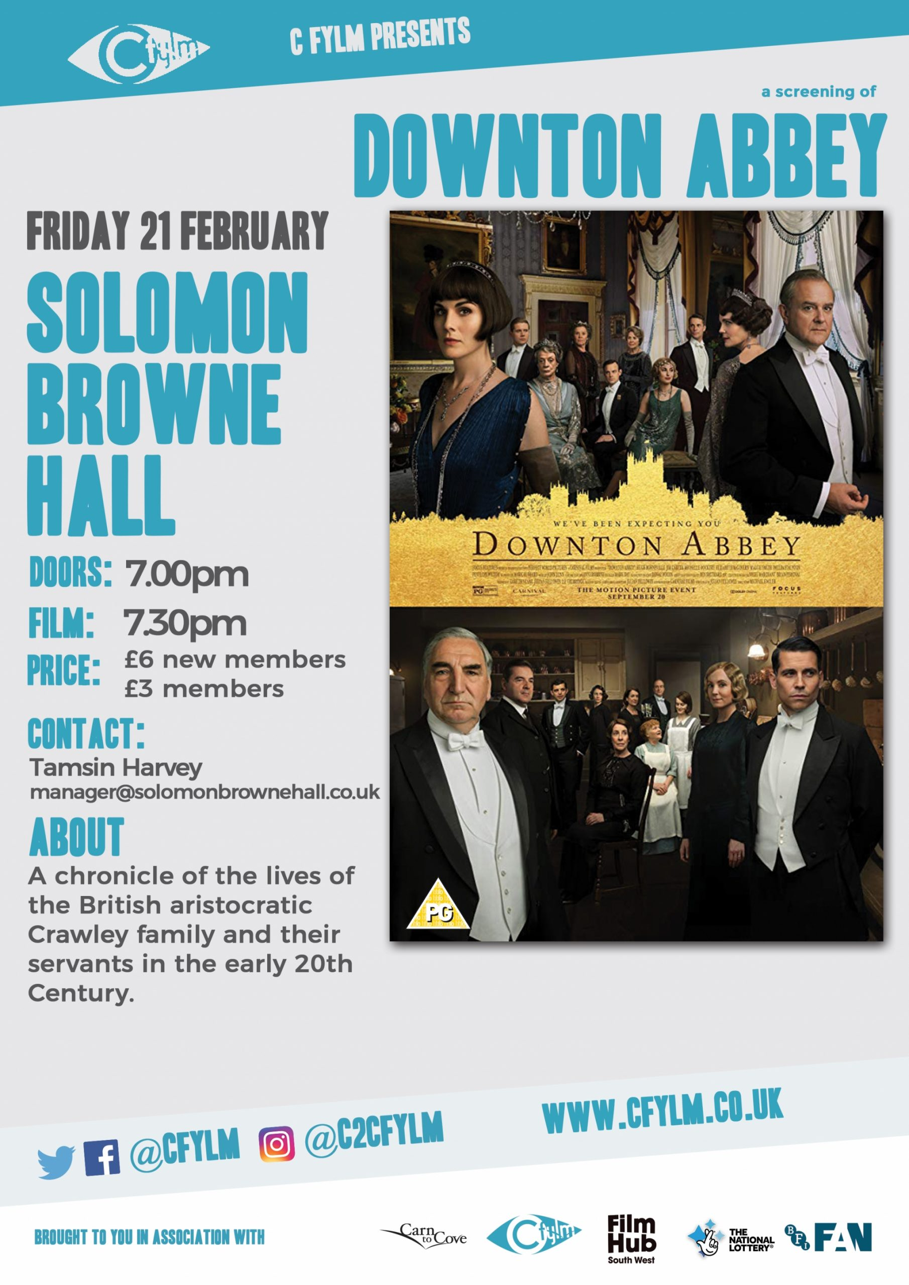 Film Night - Downton Abbey