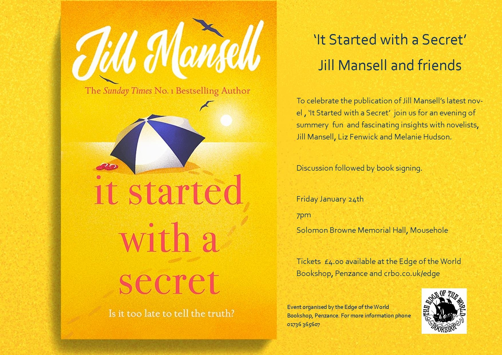 Bestselling author Jill Mansell and panel of novelists