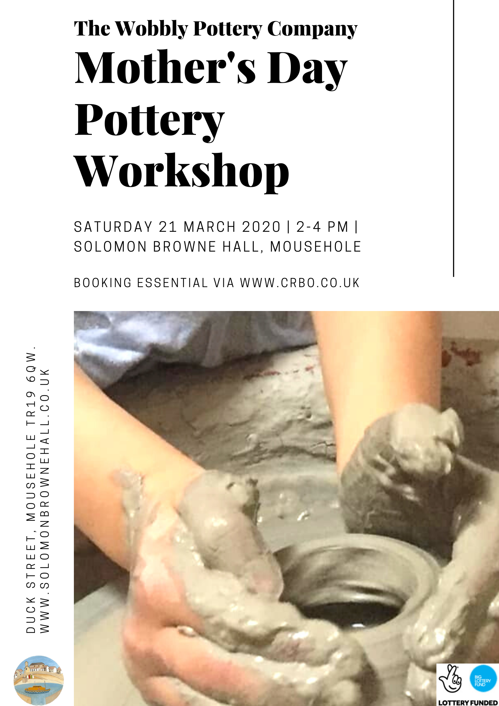 POSTPONED - Mother's Day family pottery workshop