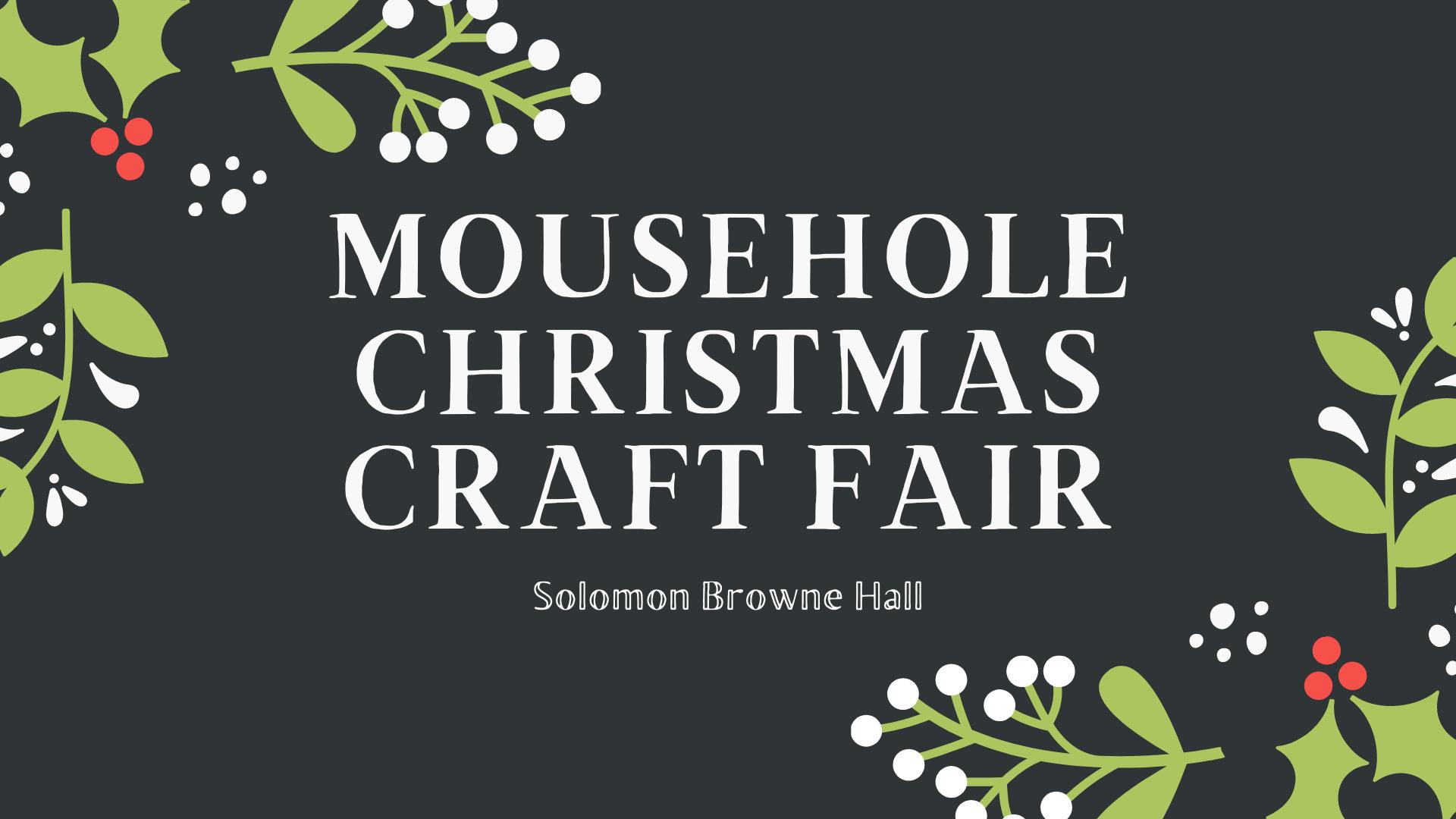 Mousehole Christmas Craft Fair