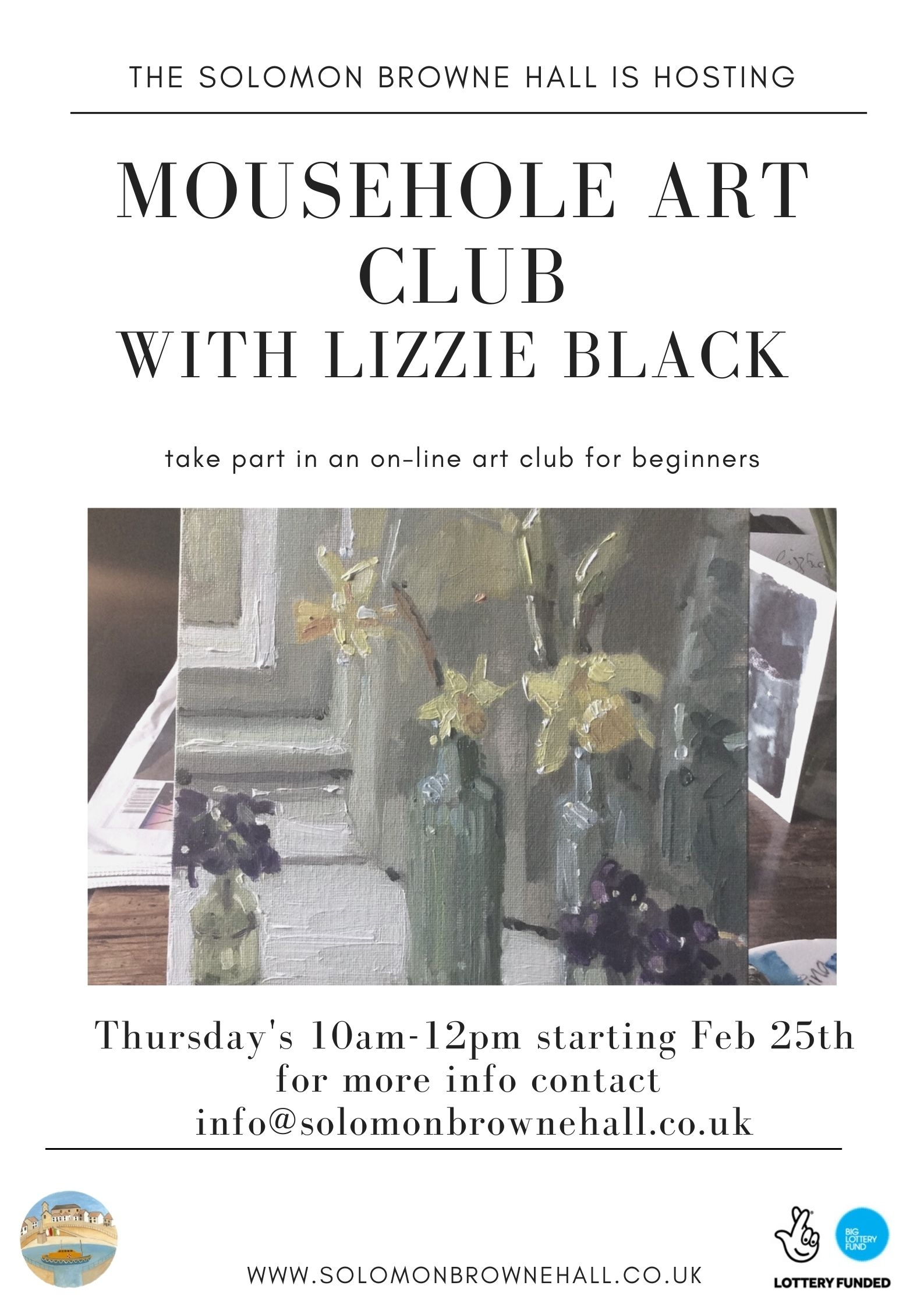 Art Club with Lizzie Black