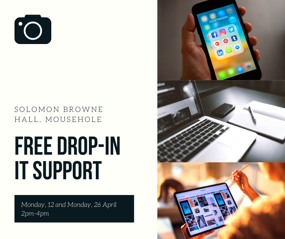Free Drop-In IT Support, 26 April