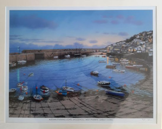 On-line art auction to support community projects in Mousehole