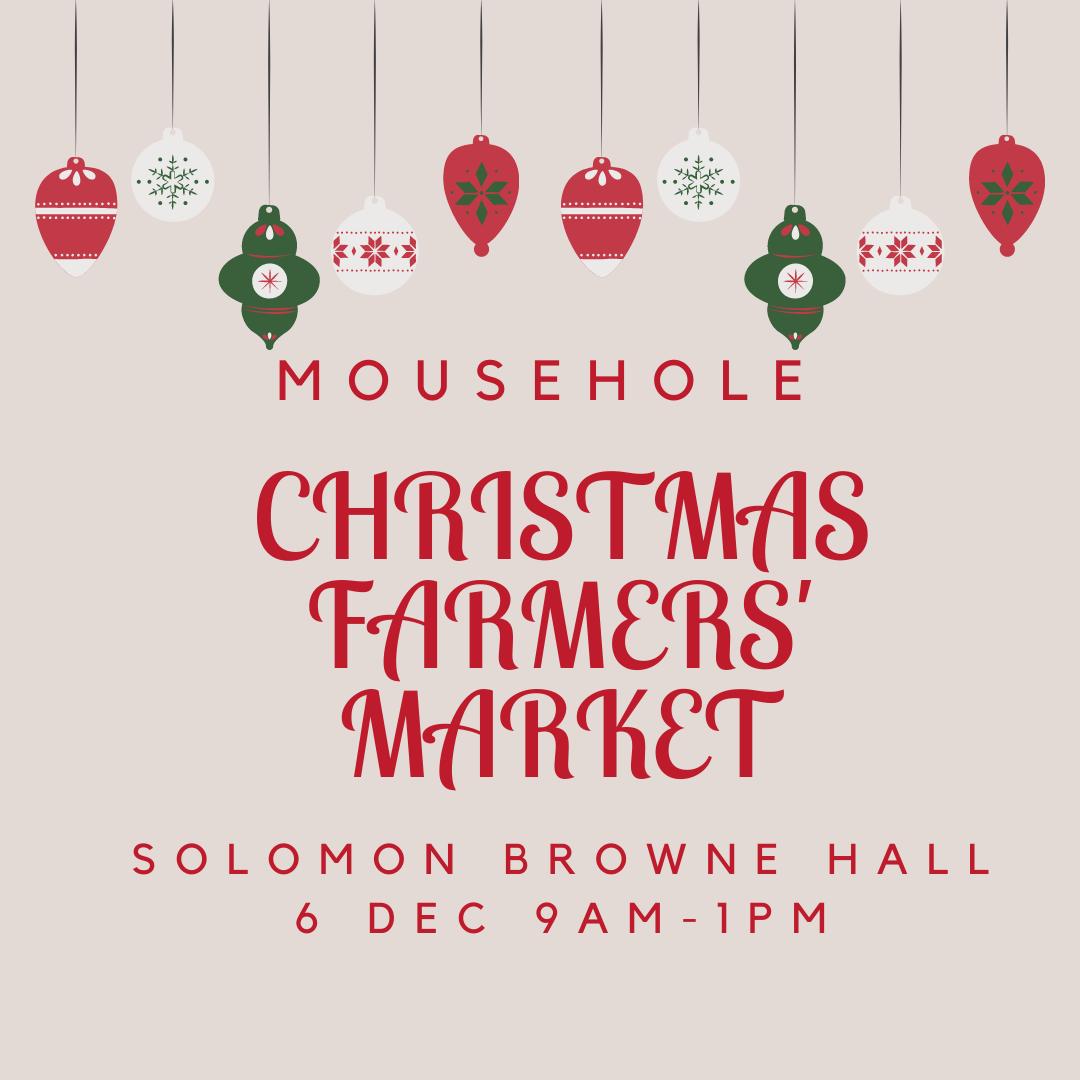 Mousehole Christmas Farmers' Market 2021