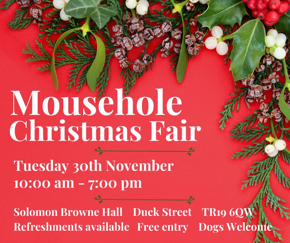 Mousehole Christmas Craft Fair 2021