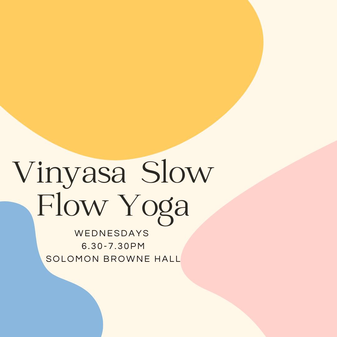 Vinyasa Slow Flow Yoga